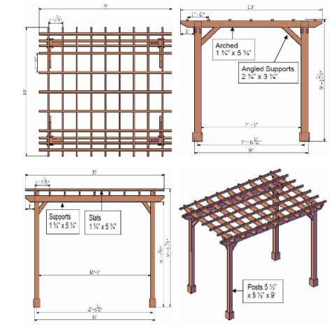 Pergola designs pergoladiy for Build your own pergola